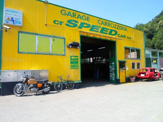 CR Speed-Car SA - Carrozzeria - Garage - Barbengo - Lugano