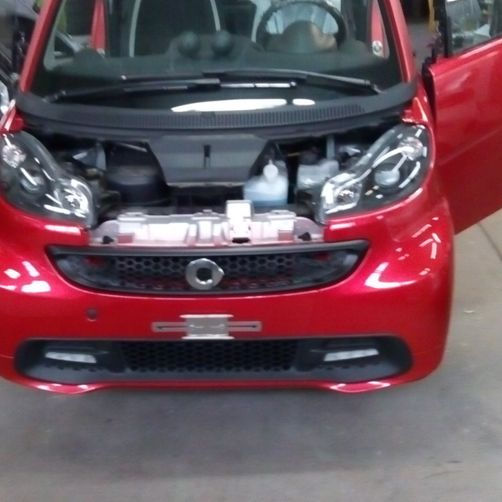 frontale Smart - CR Speed-Car SA - Carrozzeria - Garage - Barbengo - Lugano