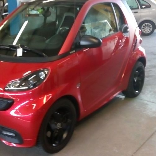 davanti Smart - CR Speed-Car SA - Carrozzeria - Garage - Barbengo - Lugano